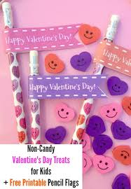 candy for s day non candy s day treats for kids free printable pencil