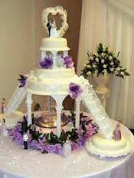romantic design wedding cakes with fountains i like the table