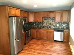 knotty hickory cabinets kitchen hickory stained cabinets rustic hickory cabinets kitchen design