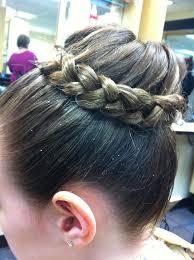 gymnastics picture hair style 257 best gymnastics hair images on pinterest braid braided buns