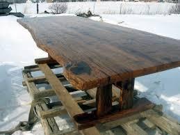 Antique Farm Tables 4x11 Farm Table Hand Hewn Trestle White Oak By Antique Woodworks