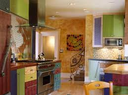 colorful kitchens hgtv