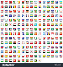 World Flag World Flag Collection Stock Illustration 158635652 Shutterstock