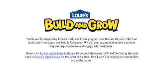 lowes build and grow program ends fairfax family fun