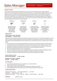 Sales Manager Resume Templates Word manager resume template word template