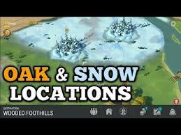 unlock oak winter 1 6 last day on earth survival