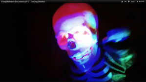 funny halloween decorations 2012 dancing skeleton youtube