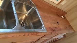 counter top rough cut oak countertop slideshow youtube