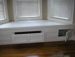 Under Window Bench Seat Storage Diy by Bay Window Bench With Storage Diy Seat From Ikea Stolmen Images On