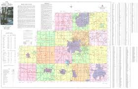 Ohio City Map by Medina County Engineer