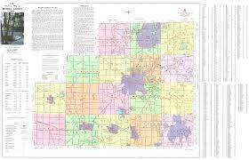 Ohio Cities Map by Medina County Engineer