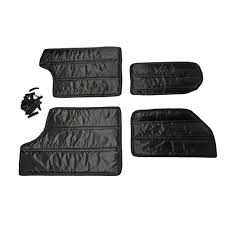 jeep black 2 door rugged ridge 12109 03 wrangler jk hardtop insulation kit sound