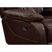 Rocking Reclining Loveseat With Console Dakota Gliding Reclining Loveseat With Console Java American
