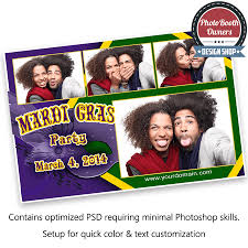 mardi gras photo booth mardi gras party photo booth templates for photoboof