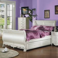 White Twin Bed Pearl White Twin Bed