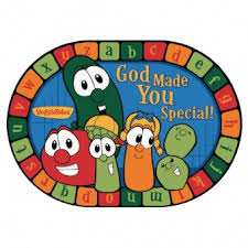 plate you are special god made you special veggietales rug manufacturing