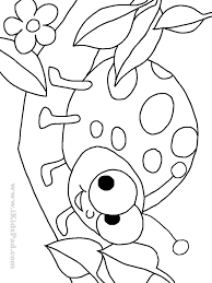 ladybug coloring page happy birthday card with ladybug coloring