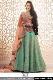 multicolor colour wedding wear lahegha designer indian latest