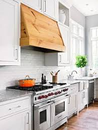 White Kitchen Backsplash Tile by Love The White U0026natural Wood Trim Also The Tile Blue Glazed