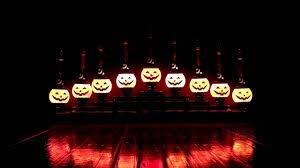 the radko shiny brite halloween pumpkin candolier youtube
