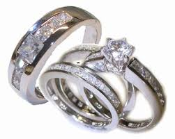 wedding ring sets his and hers white gold his and bridal sets fresh wedding rings wedding ring sets his