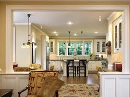 Open Kitchen Floor Plans With Islands by Awesome 25 Living Room Open To Kitchen Inspiration Design Of 15