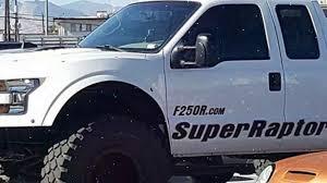 Ford Raptor Super Truck - news today 2017 ford 250r super raptor and mega raptor youtube