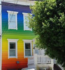 Color House by Multi Color House House Onf Clipper Street San Francisco Lon