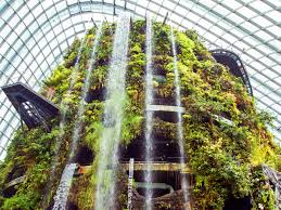 singapore indoor waterfall business insider