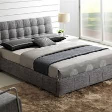 Upholstered Platform Bed King Bed Bath Upholstered Platform Bed Add Charm To Your Bedroom