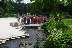Artful Gardens Queens Botanical Garden Artful Rainwater Design
