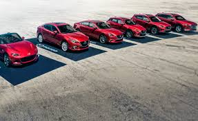 mazda car line mazda is the most fuel efficient automaker again autoguide com news