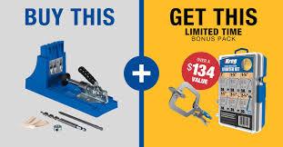 Cabinet Jig Home Depot Home Depot Promotion Kreg Tool Company