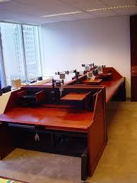 Line Desk 10 Best Trading Desk Showcase Images On Pinterest Office