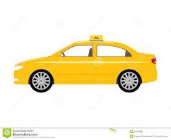 cartoon car vector illustration cartoon car yellow taxi stock vector image
