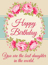 birthday cards for daughter birthday u0026 greeting cards by davia