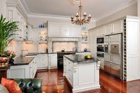 White Stained Wood Kitchen Cabinets Kitchen Relaxing Beautiful Kitchen Idea Southern Living Kitchen