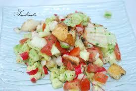 recette cuisine iranienne fattoush salade iranienne sandrine dans tous ses états