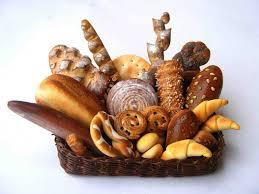 bakery basket my tiny world dollhouse miniatures bakery basket