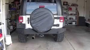 jeep wrangler road bumper wrangler top 100 rear rock crawler road bumper install