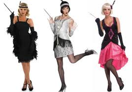 1920 Flapper Halloween Costumes Colored Gloves Finishing Touch Halloween Costume
