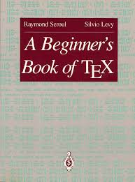 recommended tex and latex books and other printed resources