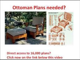 storage ottoman how to make a ottoman design click here youtube