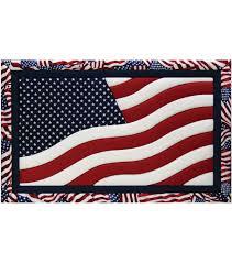 American Flag Wall Hanging American Flag Quilt Magic Kit 12