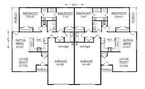 cabin plans with garage duplex plan chp 33733 at coolhouseplans com retirement home