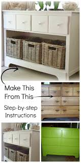 Entry Shoe Storage by Reclaim Renew Remodel Dresser To Entry Shoe Storage Cabinet