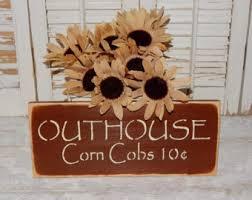 outhouse decor etsy