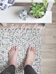 Nepal Felt Ball Rug Fairtrade Felt Ball Rugs For The Home Wild U0026 Grizzly