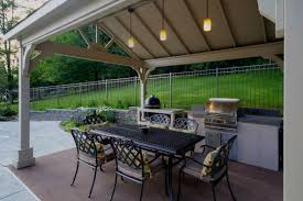 Bbq Patio Designs Small Outdoor Kitchen Gazebo Pergola Ideas Built In Bbq Grill