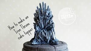 iron cake topper of thrones cake topper fondant iron throne
